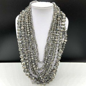 Papparazzi Zi Knockout Crystal Beaded Necklace